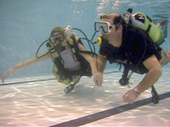 Pool training with Cardiff Bsac